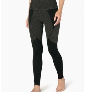 beyond yoga space dye paneled high waist legging